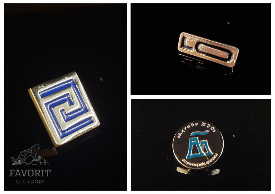 Самые красивые металлические значки на одежду